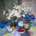 Alexey Dmitriev - Camomilles と corn-flowers